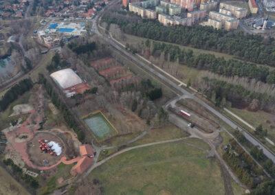 Entwicklung des Sportparks von Szombathely