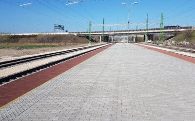 Der Bahnhof Nagytétény – Diósd wurde dem Verkehr übergeben