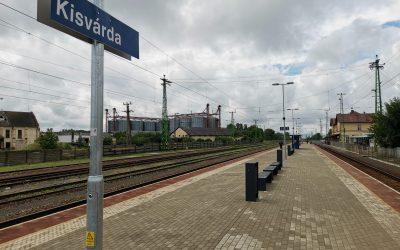 Modernisierung des Bahnhofs Kisvárda abgeschlossen