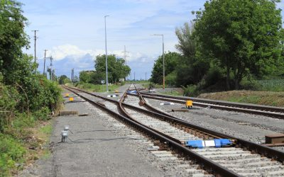The reconstruction of the siding track in Szigetvár has been completed